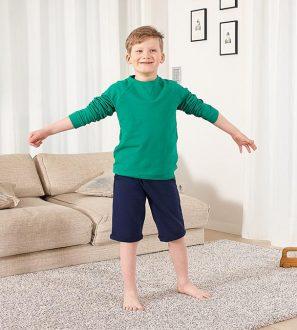 Zielona bluza dresowa dla Chłopca