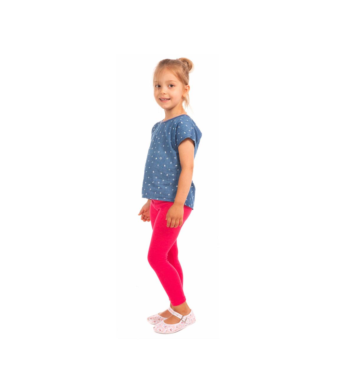 Amarantowe (różowe) legginsy dla dziewczynki, elastyczne 92, 104, 116, 140