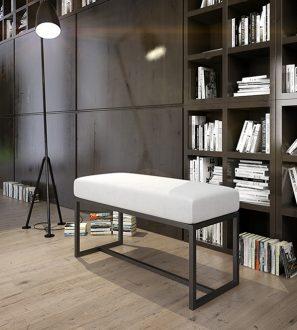 Elegancka ławka do nowoczesnych i minimalistycznych wnętrz