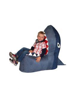 Fotel pufa Shark