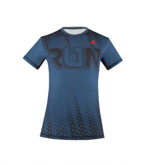 Koszulka męska do biegania INTERDRY wzór 2