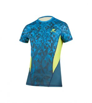 Koszulka męska do biegania VENTO niebieska