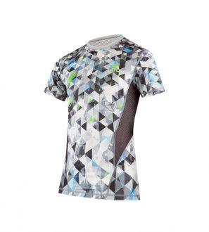 Koszulka męska do biegania VENTO szara