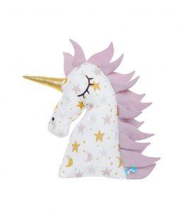 Miękka oraz przytulna poduszka Jednorożec minky Unicorn 52cm