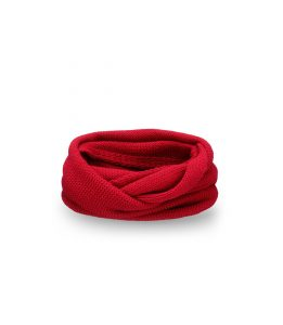 Komin zimowy damski (czerwony)