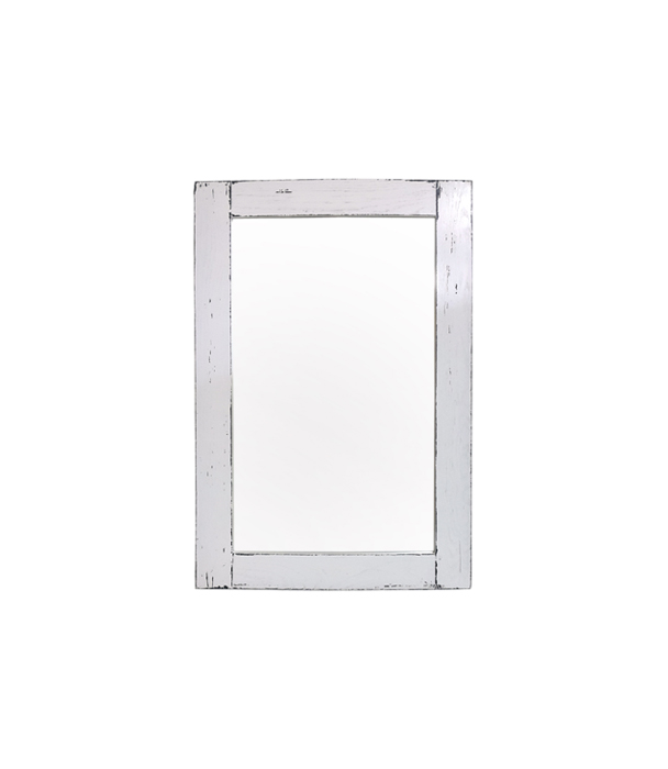 Postarzane lustro dębowe 90cm x 60 cm