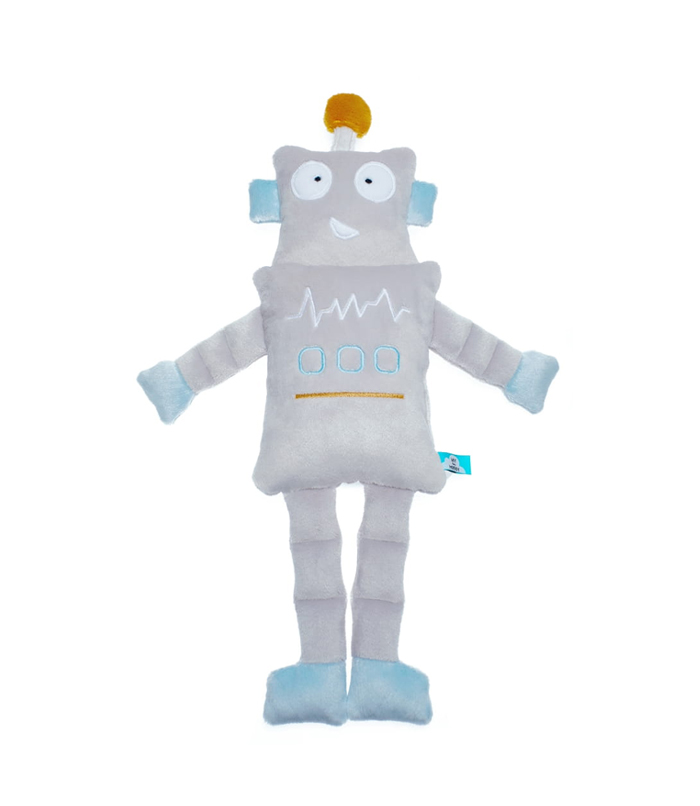 Przytulanka haftowana zabawka dla chłopca ROBOT minky 48cm