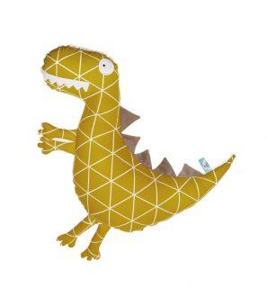 Ręcznie haftowana miękka Poduszka Przytulanka Dinozaur 53cm