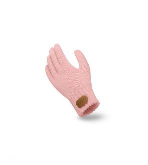 Różowe Rękawiczki Dziecięce