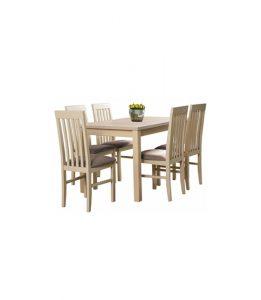 Stół rozkładany z krzesłami LI