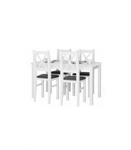 Stół rozkładany z krzesłami LV