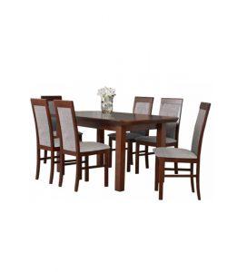 Stół rozkładany z krzesłami LXI