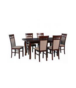 Stół rozkładany z krzesłami VII