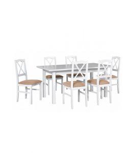 Stół rozkładany z krzesłami XLVI