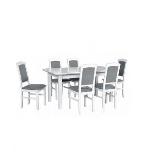 Stół rozkładany z krzesłami XLVII