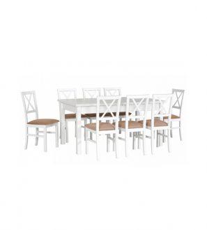 Stół rozkładany z krzesłami XXIII