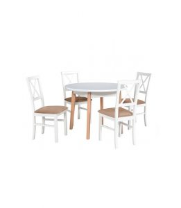 Stół rozkładany z krzesłami XXIX