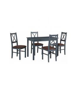 Stół z krzesłami IX