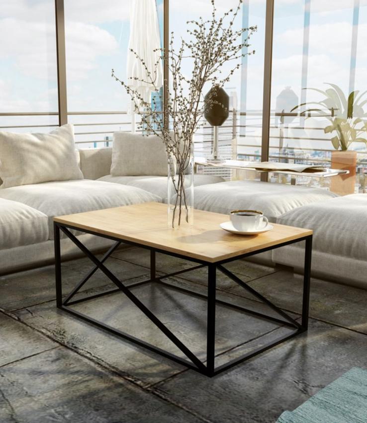 Stolik kawowy do nowoczesnego wnętrza, atrakcyjny design