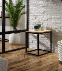 Stolik pomocniczy designerski wykonany ręcznie wysokość 50 cm