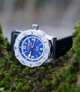 Zegarek Bathyscaphe (tarcza niebieska)